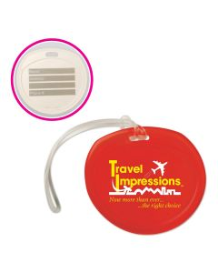 Round Traveler Luggage Tag