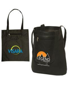 Zip Pocket Non Woven Tote Bag