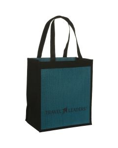 LogoTec Jute Non-Woven Shopping Tote Bag