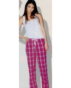 District Juniors Flannel Plaid Pants