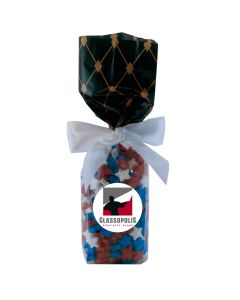 Black Diamonds Mug Stuffer Gift Bag with Candy Stars