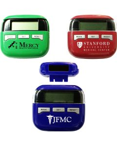 Solar Powered Multifunction Pedometer