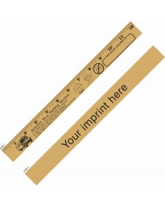 "School Bus Safety ""U"" Color Ruler"