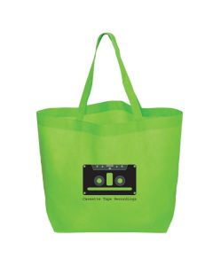 "Oversize Non-Woven Convention Tote Bag (20""x12""x8"") (Printed)"