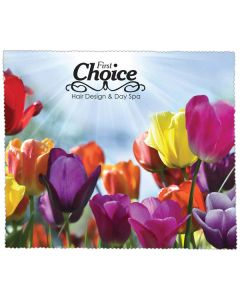 Premium Microfiber Cleaning Cloth - Flowers