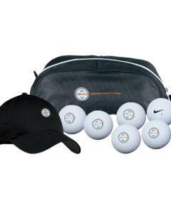 Nike Golf Shoe Tote/Cap/6 Ball Kit - Power Distance Long Balls