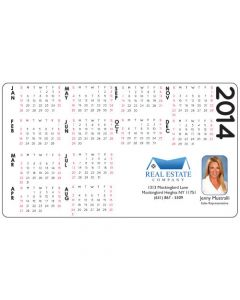 Microfiber Cloth with 2014 Calendar