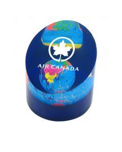 Acrylic Round Globe Paperweight