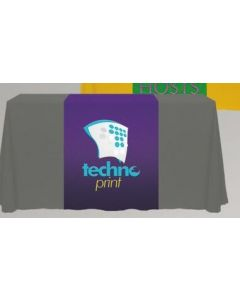 "Digital 30"" x 90"" Liquid Repellent Table Runner"