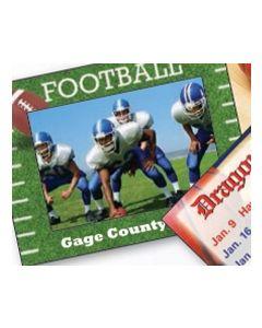 Sports Football Mini Photoframeables Photo Frame Decal