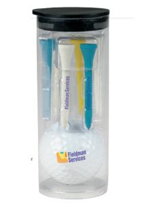 Par Pack Tube w/ Golf Ball-N-Tees - Callaway Warbird 2.0