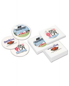 4 Ceramic Coaster Gift Set