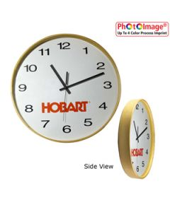 "16"" Moderno Wood Wall Clock"