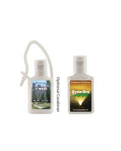 1/2 Oz. Flat Hand Sanitizer Bottle