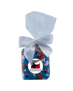 Clear Mug Stuffer Gift Bag with Candy Stars