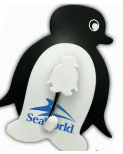 Hang-Its™ Suction Cup Hangers - Penguin