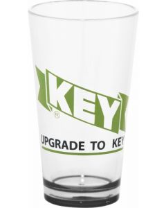 16 Oz. Game Day Plastic Pint Glass