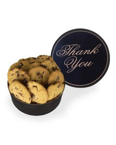 Thank You Design King Size Cookie Tin