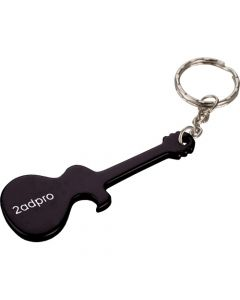 Guitar Bottle Opener w/ Key Ring