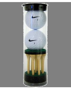 Nike Two Ball Tube with Stock Tees