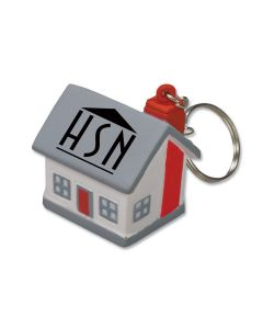 Mini Cottage/ House Stress Reliever Key Tag