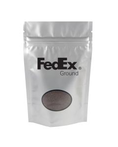 1.5 Oz. Black Ground Coffee Bag