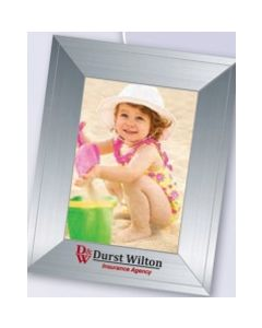 Contemporary Mini Photoframeables Silver Photo Frame Decal