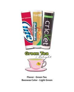 Green Tea Delight Premium Lip Balm in White Tube