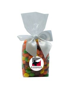 Clear Mug Stuffer Gift Bag with Skittles