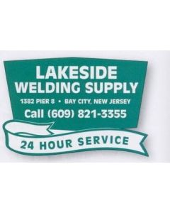 "Trapezoid Truck Signs & Equipment Decal (12 1/4""x18 1/2"")"