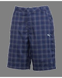 Puma Golf Plaid Tech Short