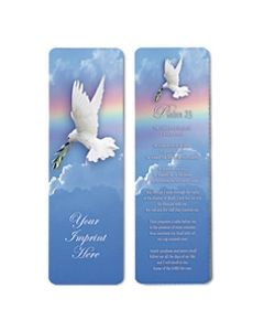 Inspirational Stock Full Color Digital Printed Bookmark