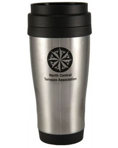 14 Oz. Stainless Steel Plastic Tumbler Mug
