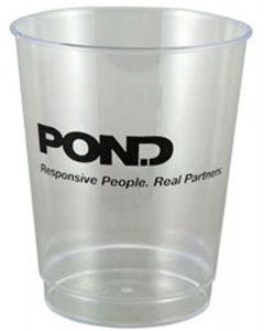 8 Oz. Clear Polystyrene Stadium Cups