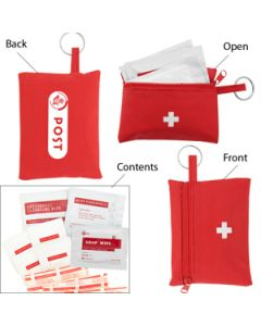 First Aid Travel Kit - 22 Piece (Direct Import-10 weeks Ocean)