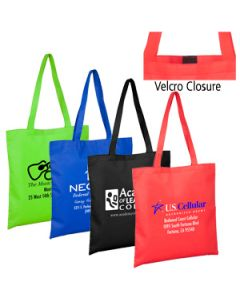 "15""W x 16""H - 80GSM Non-Woven Catalina Day Tote with Velcro Closure"