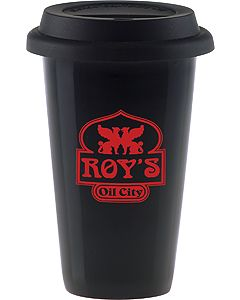 11 Oz. Black Vibrant e.Ssential Tumbler with Lid