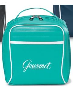 Turquoise Retro Lunch Cooler