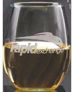 15 Oz. Stemless White Wine Glass