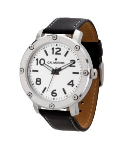 Watch Creations Unisex Watch w/ Black Leather Strap