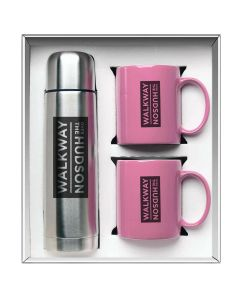 Pink Hampton To Go Gift Set