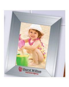 Contemporary Medium Photoframeables Silver Photo Frame Decal