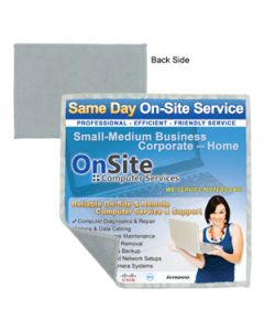 "2-in-1 Microfiber Cleaning Cloth and Towel - 6""x6"" (Overseas 8-10 Wks.)"