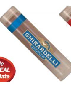 Premium Chocolate Lip Balm w/ Clear Label