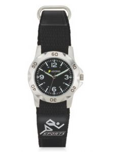 Watch Creations Unisex Sport Watch w/ Hook & Loop Closure Strap