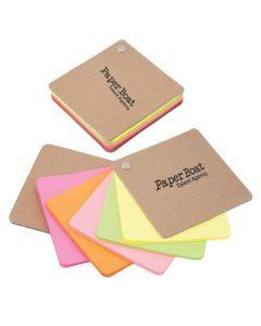 Recycled Cardboard Pivot Pad - Neon Colors (Printed)