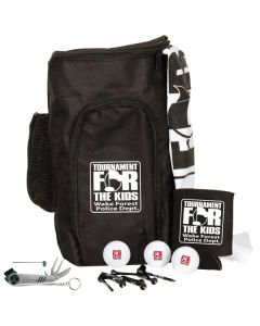 Deluxe Shoe Bag Kit w/ Pinnacle Gold Distance Golf Balls