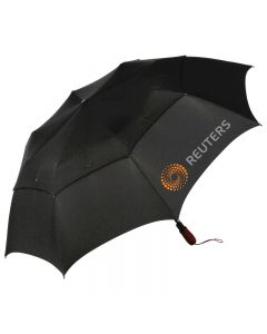 Wind Pro Leather Jumbo Golf Automatic Umbrella