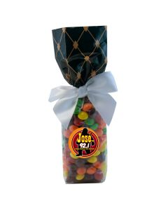 Black Diamonds Mug Stuffer Gift Bag with Skittles