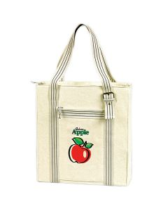eGREEN Vertical Canvas Brief / Tote Bag (Promotional)